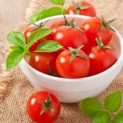 新鮮なミニトマト